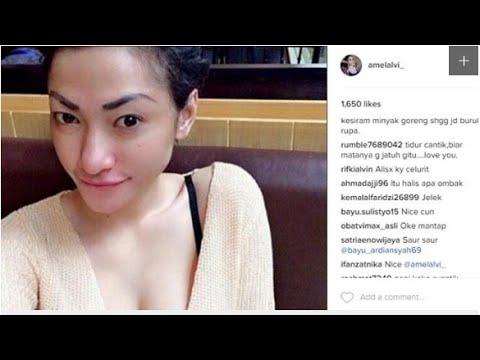 Heboh Inilah Alasan Netizen Menghujat Amel Alvi Di Instagram Youtube