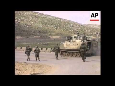 Lebanon - Muslim Attack Pro-Israeli Militia