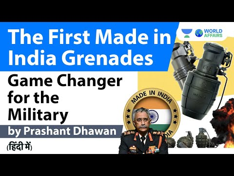 Game Changer for the Military with the First Made in India Grenades