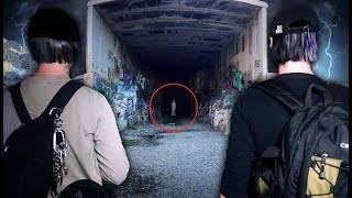 INVESTIGATING the most HAUNTED TRAIN TUNNELS in Truckee California | Donner Train Tunnels Ep1