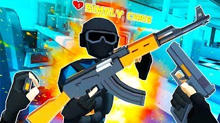We Tried to Stop a Bank Robbery and Everything Exploded in Crisis VRigade VR!