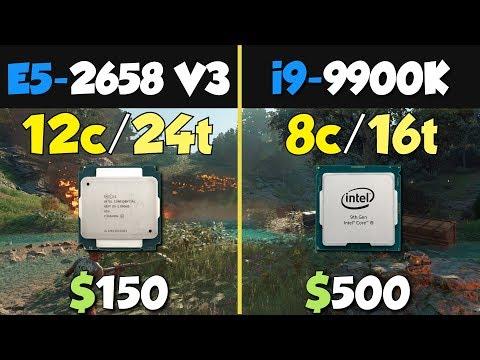 i9-9900K vs Xeon E5-2658 V3