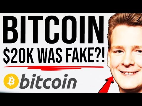 BITCOIN 2017 WAS FAKE RALLY?! 🛑 One Single Whale Pumped Bitcoin? Research Explained