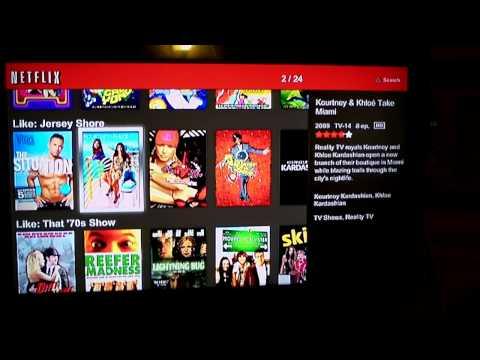 Netflix App for PS3