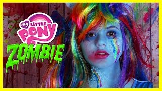 Video ZOMBIE MY LITTLE PONY RAINBOW DASH MAKEUP TUTORIAL! Equestria Doll Cosplay Halloween | KITTIESMAMA download MP3, 3GP, MP4, WEBM, AVI, FLV November 2017