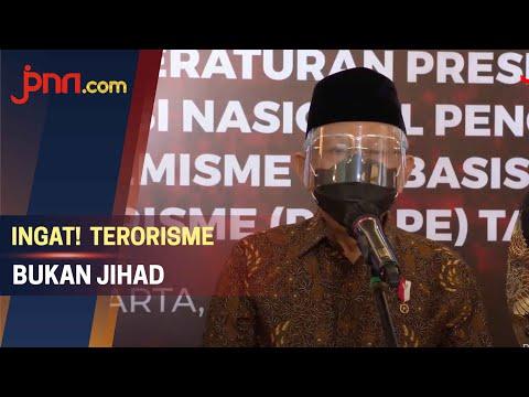 Wapres Ma'ruf Amin: Terorisme Bukan Jihad