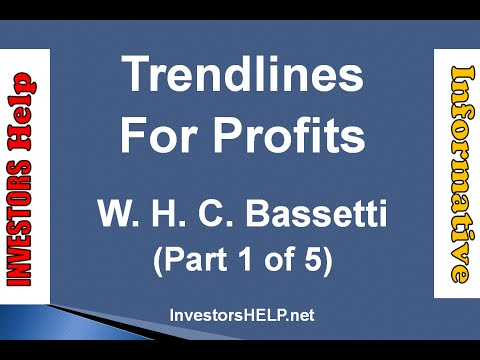Trendlines For Profits (Part 1 of 5)