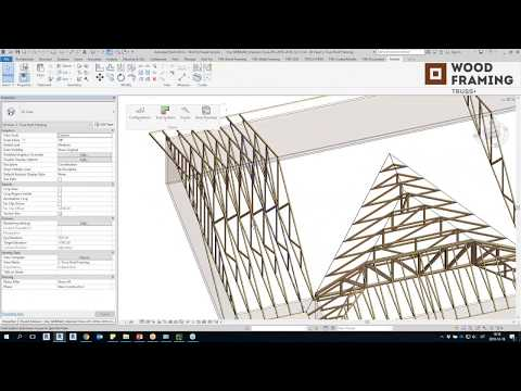 Timber Framing for Revit®: Roof Trusses | Wood Framing