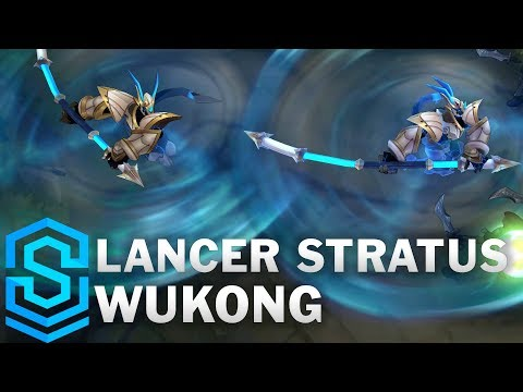 Lancer Stratus Wukong (2020) Skin Spotlight - League of Legends
