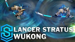 Lancer Stratus Wukong (2020) Skin Spotlight - League of Legends