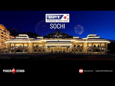 EPT SOCHI Main Event, Final Table (Cards-Up)