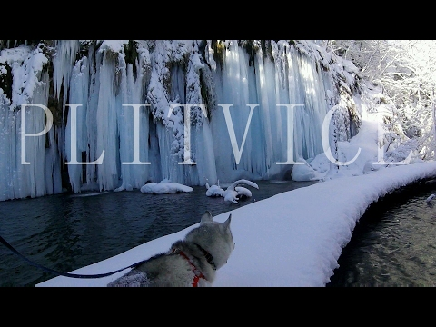 Plitvice winter run/hike ✓ Croatia National Park HD