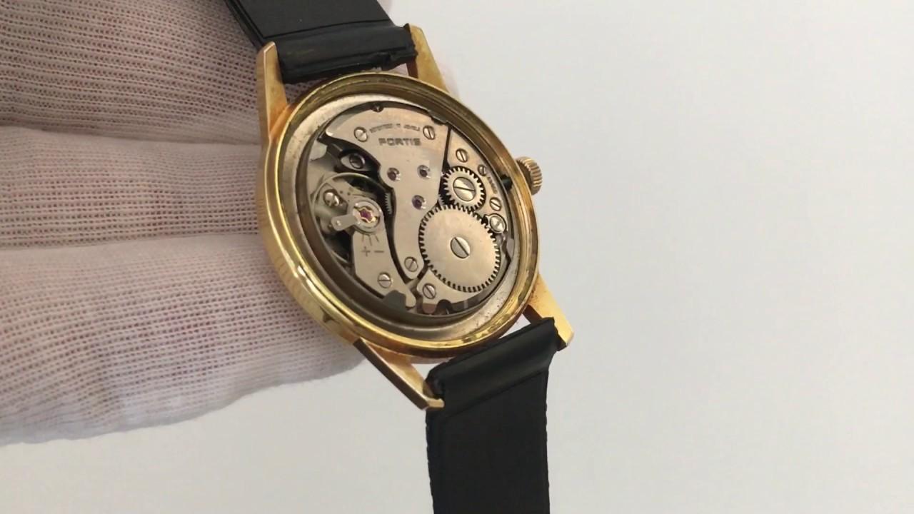 22c15e19d18 Vinage Watch - Fortis - 17 Jewels Incabloc movement