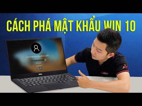 huong dan restore win 10 - Cách phá mật khẩu win 10 thành công 100%  - đổi mật khẩu máy tính, laptop
