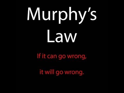 Do You Believe in Murphy's Law? Question