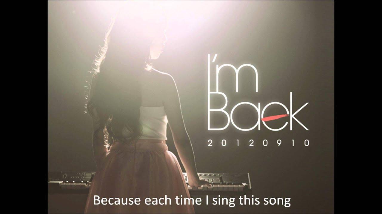 (live cover) Baek ah yeon - sad song - YouTube