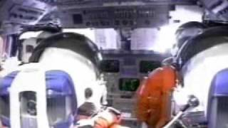 NASA Shuttle launch in the COCKPIT + Communication