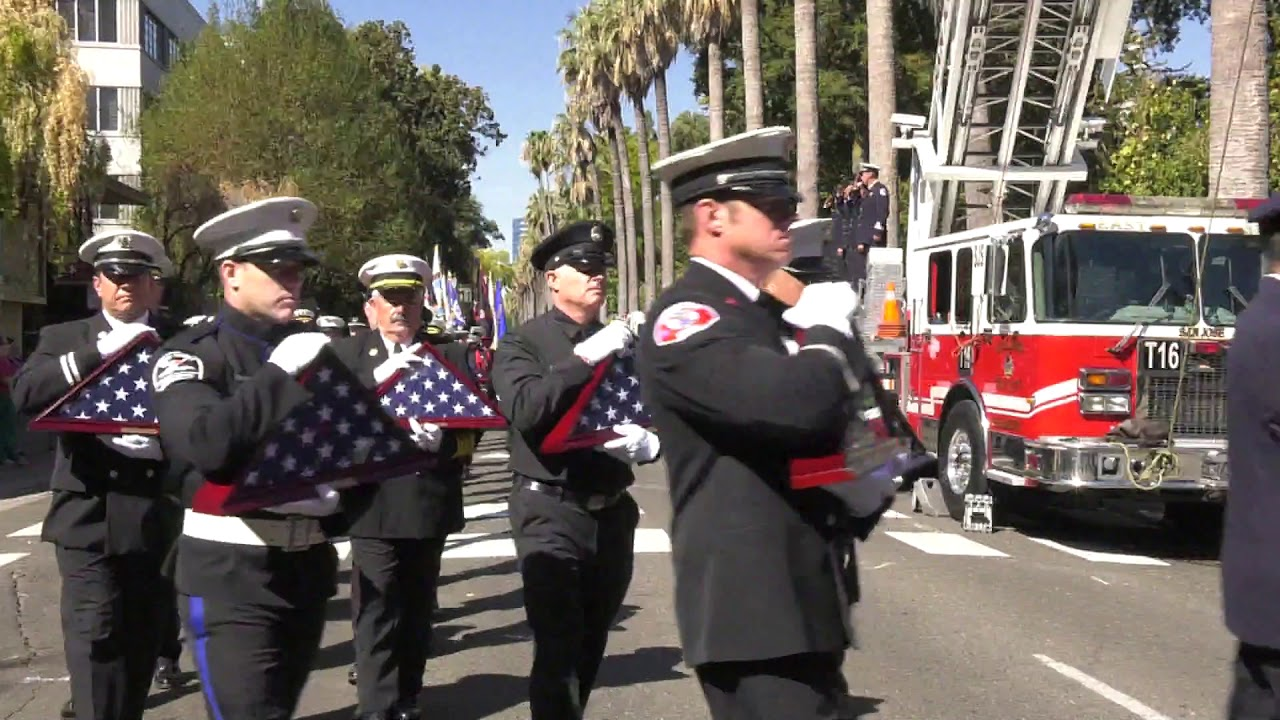 Firefighters Marching At Capitol >> 2017 California Firefighters Memorial Ceremony Youtube