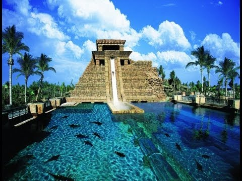 Dubai Palm Jumeirah Atlantis Aquaventure Rides GoPro Hero
