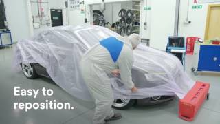 How to mask a vehicle - Vehicle Repair Processes by 3M™