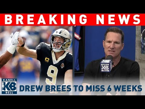Walter Brown - Brees needs surgery on his thumb.