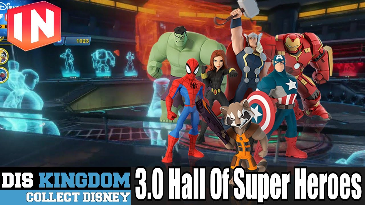Disney Infinity 3 0 Hall Of Super Heroes Marvel Youtube