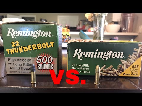 ** TRUTH about Remington Thunderbolts vs Remington Golden Bullets !