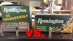** TRUTH about Remington Thunderbolts vs Remington Golden Bullets !
