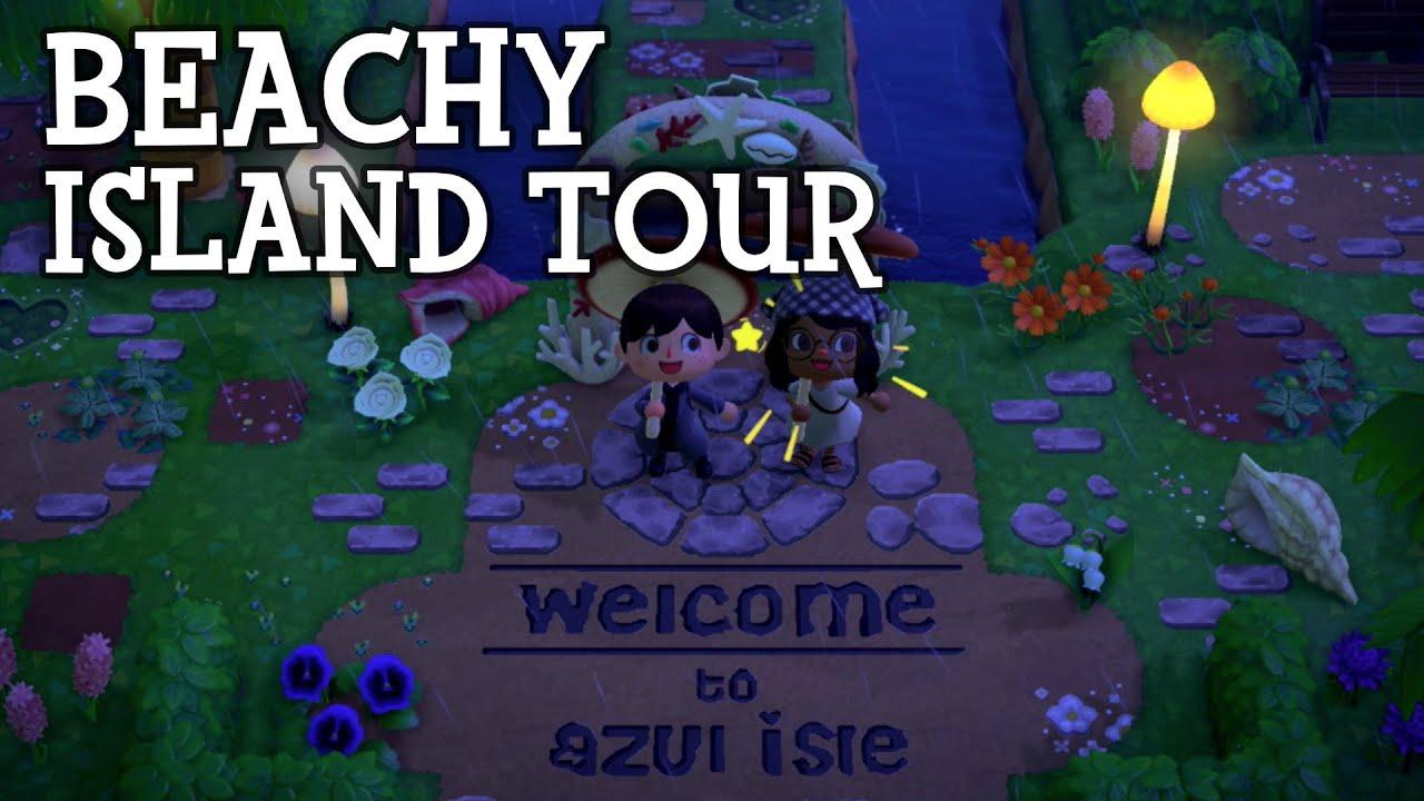 Beachy Island Tour - Animal Crossing New Horizons