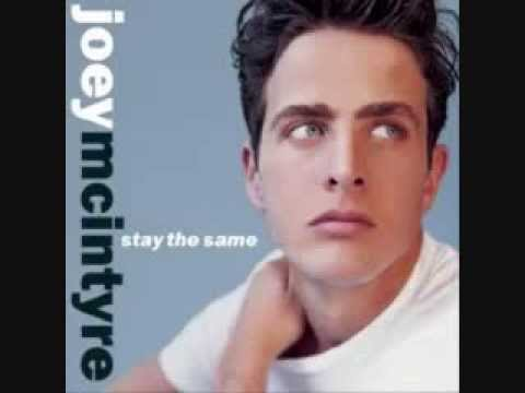 Joey McIntyre   I Love You Came Too Late with s