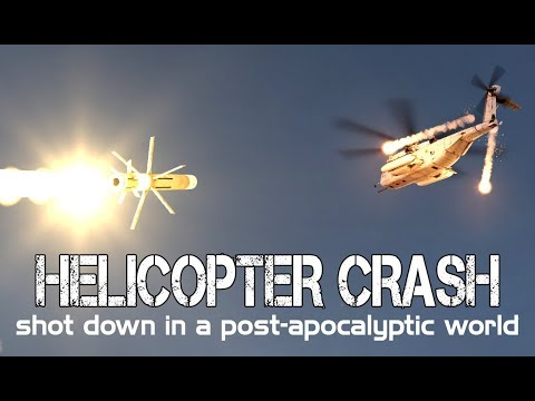 Arma 3 - HAARP Episode 1: HELICOPTER CRASH, Apocalyptic Disasters, and Marines Vs Russians