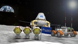 KSP: Probably my FAVOURITE Mun Lander yet! (Reddit Challenge)