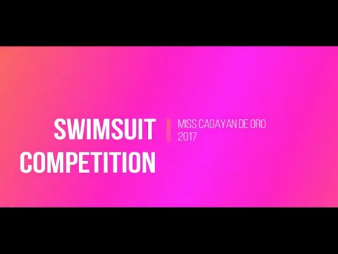 Ms CDO Swimsuit Competition 2017