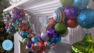 Holiday DIY: Colorful Ornament Garland - Martha Stewart