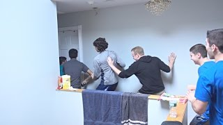 Repeat youtube video CRAZY FANS BREAK INTO OUR HOUSE PRANK!!