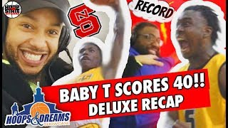 16 y/o SCORES 40?! Baby T BREAKS SCORING RECORD + Justin Wright SLIGHT GLAZE as State Champs CLASH!