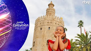 VIDEOCLIP 'PALANTE' DE SOLEÁ: Making of | Eurovisión Junior 2020