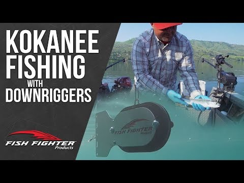 Kokanee Fishing With Fish Fighter Downrigger Weights | Fish Fighter Products