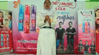 Tias Solikhah - Matahari ( Agnes Monica ) #izzivmstar2