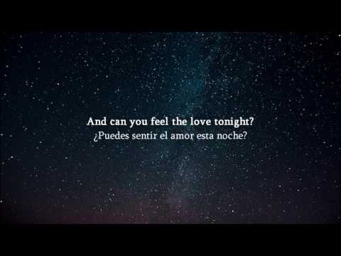 Elton John Can You Feel The Love Tonight? Subtitulada Español Inglés