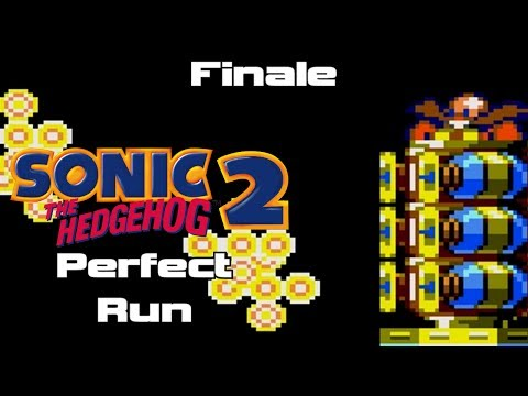 Sonic the Hedgehog Perfect Runs - Sonic 2 - Finale - Crystal Egg Zone (Game Gear)