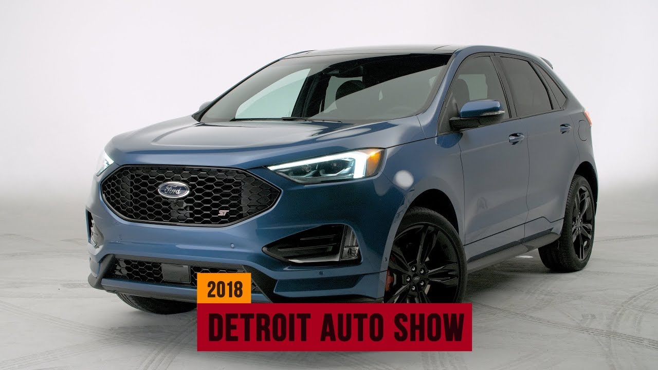 Ford Edge St Is A Turbocharged Performance Focused Crossover Suv