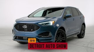 2019 Ford Edge ST is a turbocharged performance-focused crossover SUV
