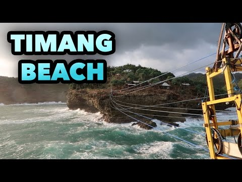 TIMANG BEACH INDONESIA TRAVEL VLOG VLOGGER #40
