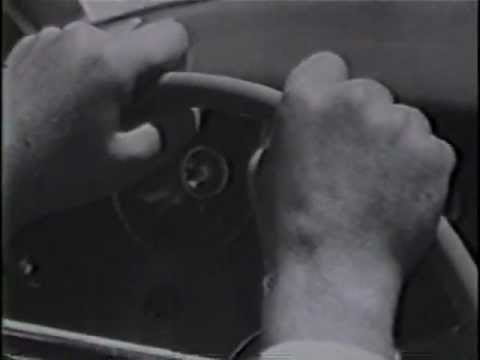 Vintage Illinois Tollway Video - Calm Driving