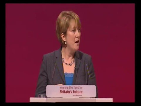 Jacqui Smith speaks to Labour Party