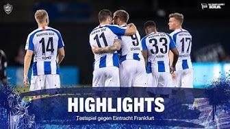 Highlights - Eintracht Frankfurt - Testspiel in St. Petersburg, Florida - Hertha BSC