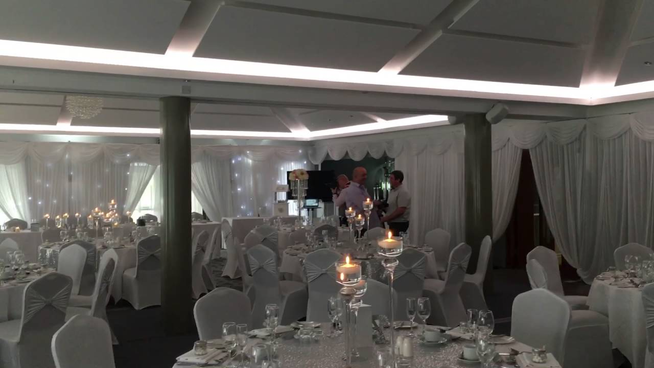 Room Draping For Your Wedding Venue Youtube