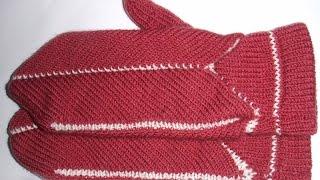 Анонс МК :Как вязать варежки, рукавицы на машине, вяжем варежки методом скольжение на машине