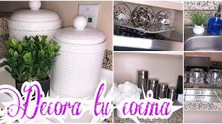 Ideas para decorar una cocina pequeña//Decorando mi hogar//Daylin Núñez